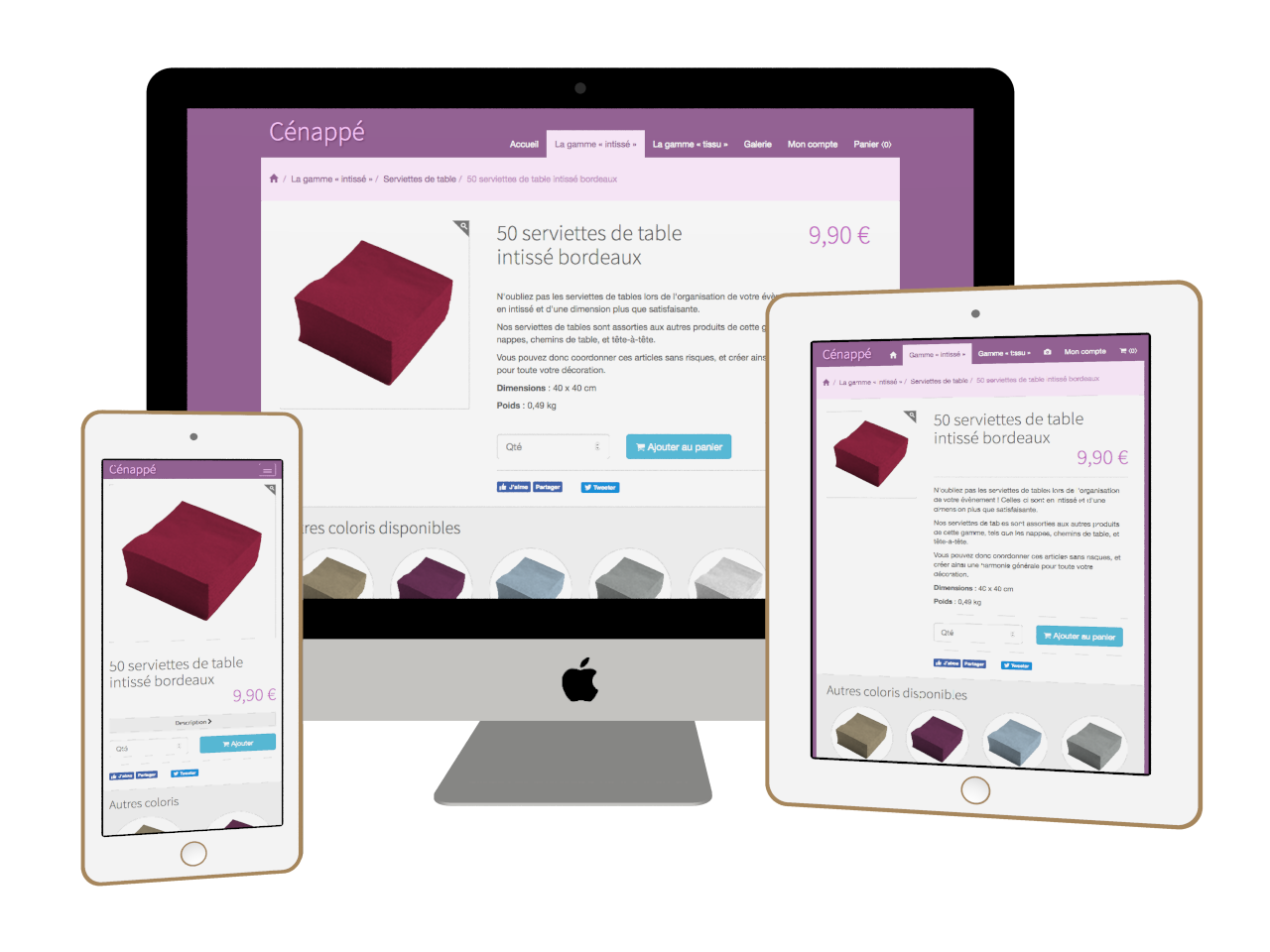 Micraux : conception et réalisation de sites Internet